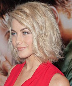 how to get julianne houghs curly bob julianne hough with wavy style and tousled effect style