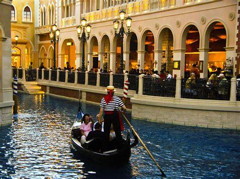boat ride venetian gondola ride inside venetian hotel photograph by jon berghoff