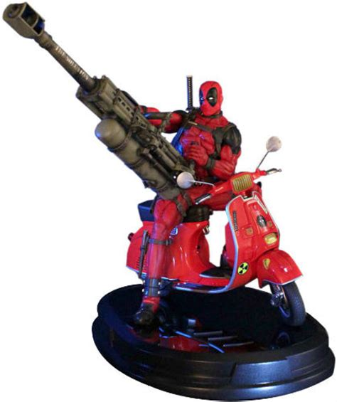 Ultimate Deadpool Figures With Shaking X Cool Car deadpool collectibles comics figures cards more