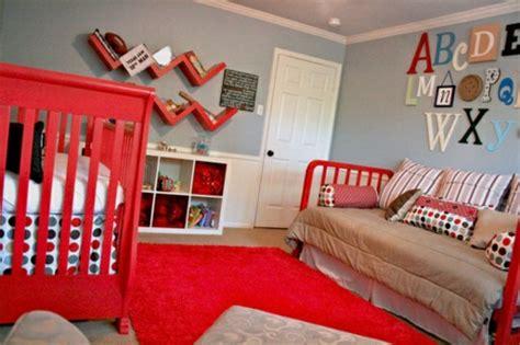 kinderzimmer ideen rot kinderzimmer streichen 20 bunte dekoideen