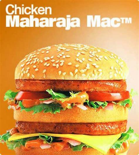 Mac Chicken i ll take the chicken maharaja mac instead parlexperts