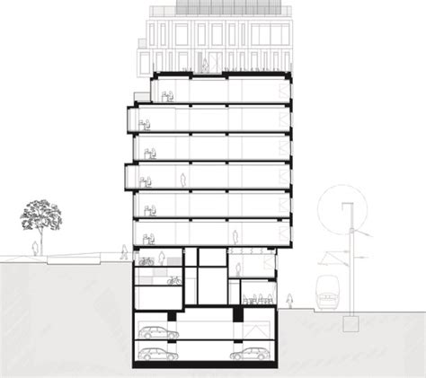 section 8 headquarters strato office block hardel et le bihan architectes