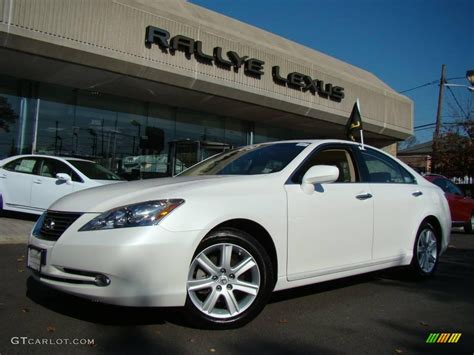 white lexus 2009 2009 starfire pearl white lexus es 350 21381718