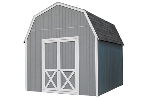 The Lumber Shed by Barn Kits Gambrel Barn 84 Lumber