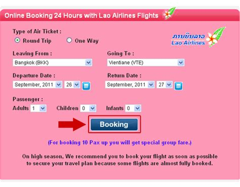 lao airlines cheap  booking laos