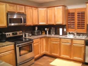 Decorating Ideas Kitchens by Kitchen Color Ideas With Light Oak Cabinet Collections
