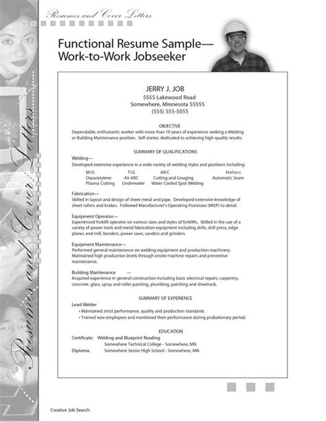 Sample Resume For Maintenance Worker by Sample Resume For Welding Position Sample Building