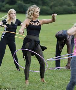 make your hips swing lydia bright shows off her curves as she hula hoops with