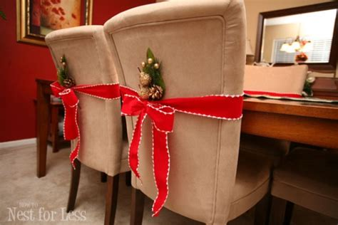 christmas chair covers home design garden