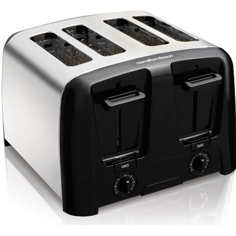 Really Cool Toasters Hamilton Cool Wall 4 Slice Toaster Chrome Kitchen