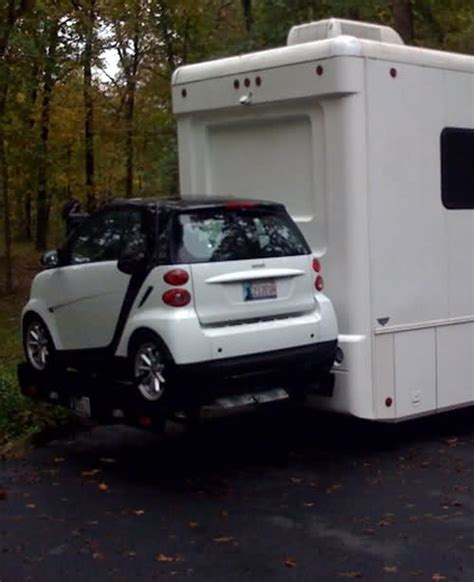 Rv With Smart Car Garage by Smart Piggy Back On Rv Pic Smart Car Forums