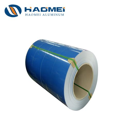 color coated factory price 8011 color coated aluminum coil