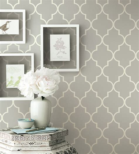 contemporary kitchen wallpaper ideas grey contemporary geometric wallpaper simplicity two