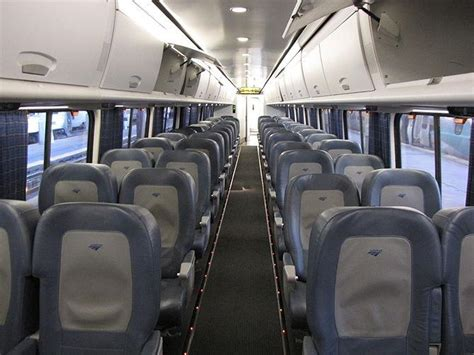Interior Express by Amtrak Looking To Boost Acela Express Capacity Speeds