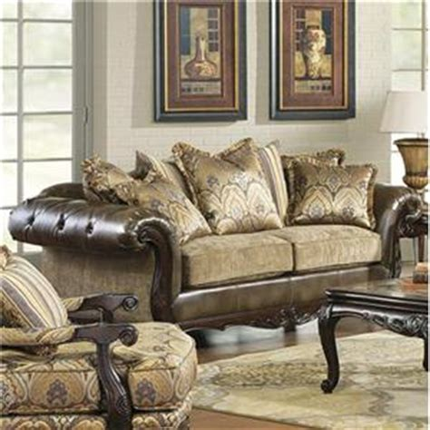 Hm Richards by Hm Richards Vanity Traditional Tufted Chenille Chaise With