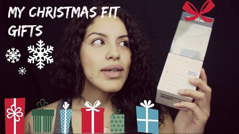 my christmas fit gifts ft reebok youtuber gifts