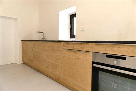 Cuisine Lineaire Design by Cuisine Lineaire En Chene For Interior Living