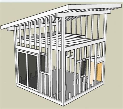 shed roof design ideas  pinterest shed roof