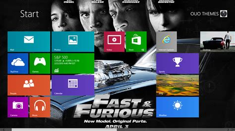 themes for windows 7 fast and furious fast and furious 6 windows 7 and 8 theme ouo themes