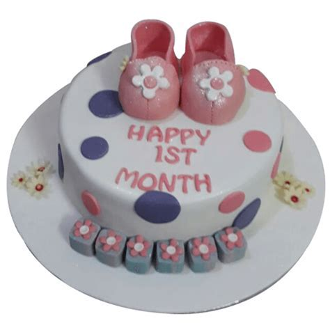 Baby Girl First Birthday Cake Online Delivery   Faridabadcake