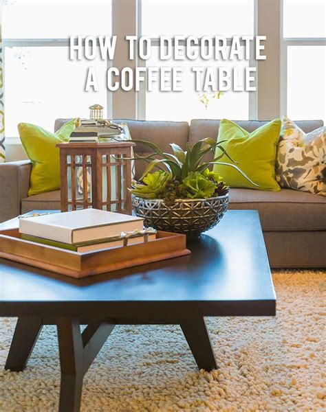 how to decorate table how to decorate a coffee table rc willey blog