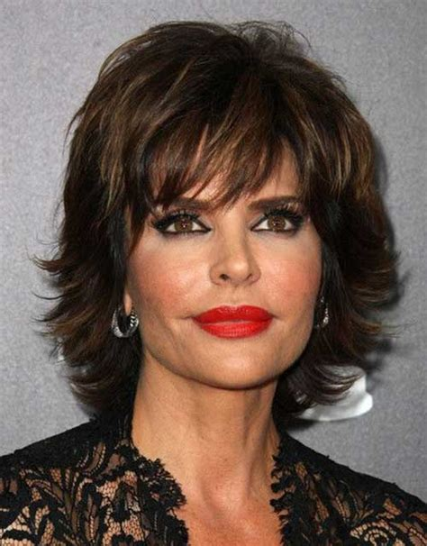 perfect short hairstyles  older women fave hairstyles