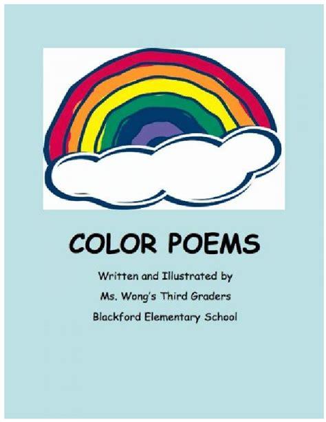 color poems color poems book 15978 bookemon