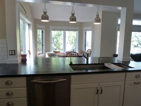 kitchen islands with columns incorporate a support post into kitchen island home
