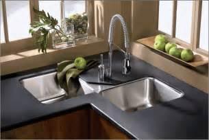 corner kitchen sinks kitchen ideas