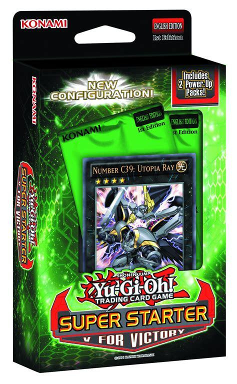 yu gi oh trading card starter deck previewsworld yu gi oh tcg v for victory starter