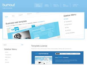 website templates free html with css burnout free website template free css templates free css