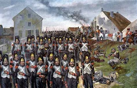 Film Perang Waterloo   6mm paper strength units french imperial guard grand