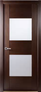 contemporary wenge interior single door with
