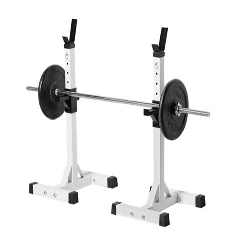 Portable Squat Rack by Adjustable Standard Solid Steel Squat Stands Portable