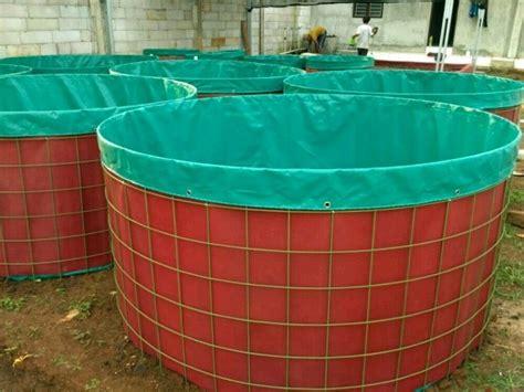 Jual Kolam Terpal Karet Bulat jual kolam terpal dan rangka siap pakai kolam terpal