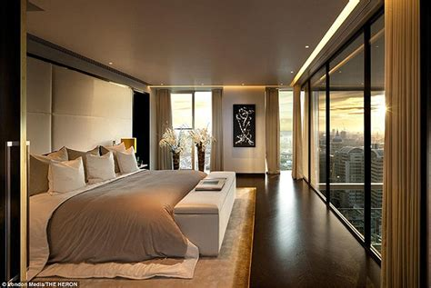 The Luxury Penthouses Perched On The 36th Floor Of London | the luxury penthouses perched on the 36th floor of london