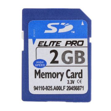 Mp4 With 2gb Memory by Elite Pro Sd Memory Card 2gb With Card Set For Cell Phone