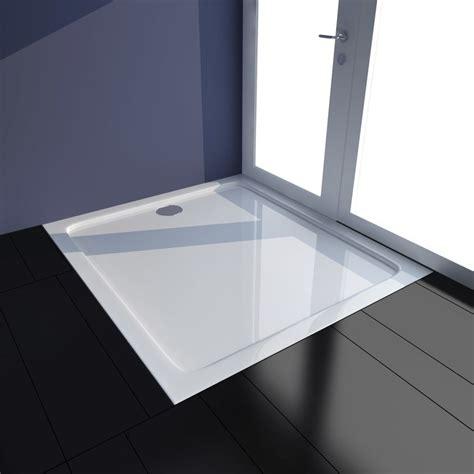piatto doccia 80 x 90 articoli per piatto doccia rettangolare in abs bianco 80 x