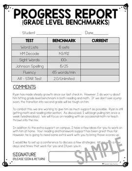editable bi weekly student progress report template templates on