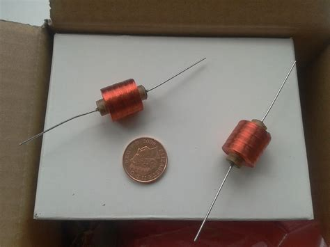 test wah inductor club components for onboard wah pedal