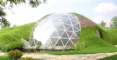 Modern House Blueprints biodomes glass geodesic domes modern sustainable homes