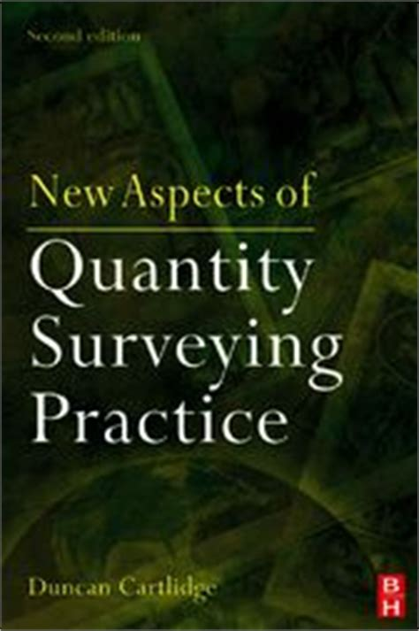 new aspects of quantity surveying practice ebook by