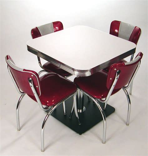 square tables retro style boomerang cracked