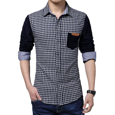 luxury designer clothing winter 2015 business shirt stitching 5xl mens designer
