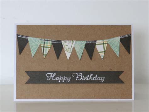 Handmade Masculine Birthday Cards - handmade masculine birthday card felt