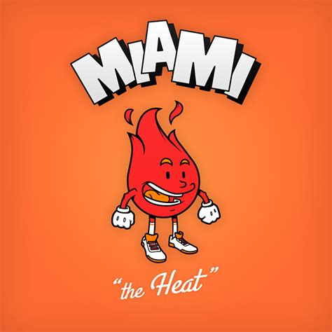 imagenes de miami heats cartoon nba logos