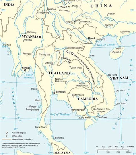 political map of southeast asia southeast asia map political