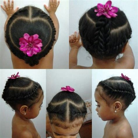 mixed girl hairstyles easy mixed girls hairstyles flat twist into a heart cute