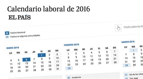 calendario de colombia del 2016 cundo en el mundo calendario laboral 2016 el pa 205 s