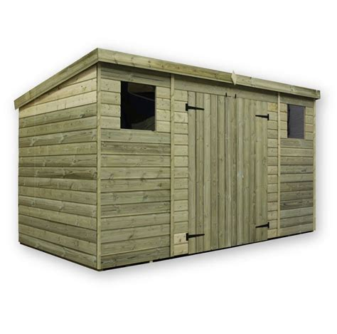 12ft X 4ft Shed Empire 5000 Pent Range Various Sizes